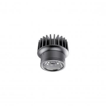 LED-модуль Ideal Lux DYNAMIC SOURCE 10W CRI90 3000K 208558, IP54, LED 10W 3000K 1100lm, черный, металл