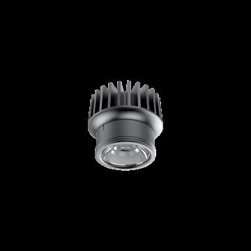 LED-модуль Ideal Lux DYNAMIC SOURCE 10W CRI90 3000K 208558, IP54, LED 10W 3000K 1100lm, черный