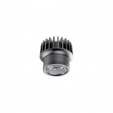 LED-модуль Ideal Lux DYNAMIC SOURCE 10W CRI90 4000K 208565, IP54, LED 10W 4000K 1200lm, черный, металл