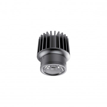 LED-модуль Ideal Lux DYNAMIC SOURCE 15W CRI90 2700K 208572, IP54, LED 15W 2700K 1400lm, черный, металл