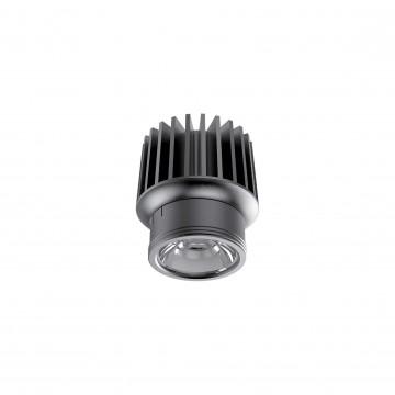 LED-модуль Ideal Lux DYNAMIC SOURCE 15W CRI90 3000K 208589, IP54, LED 15W 3000K 1500lm, черный, металл