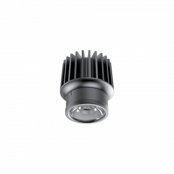 LED-модуль Ideal Lux DYNAMIC SOURCE 15W CRI90 3000K 208589, IP54, LED 15W 3000K 1500lm, черный