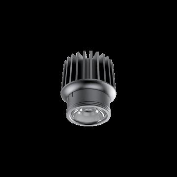 LED-модуль Ideal Lux DYNAMIC SOURCE 15W CRI90 4000K 208596, IP54, LED 15W 4000K 1600lm, черный