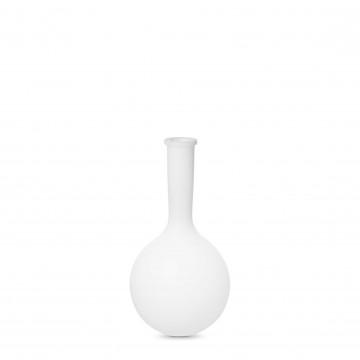 Садовый светильник Ideal Lux JAR PT1 SMALL 205939, IP44, 1xE27x42W, белый, металл, пластик