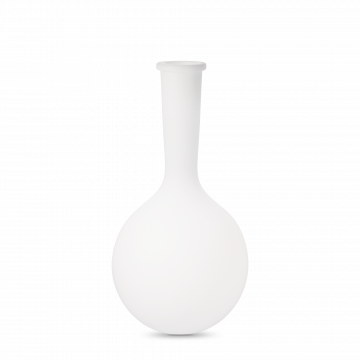 Садовый светильник Ideal Lux JAR PT1 BIG 205946, IP44, 1xE27x42W, белый, металл, пластик