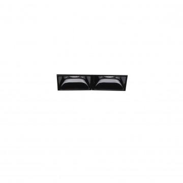 Встраиваемый светодиодный светильник Ideal Lux LIKA 04W TRIMLESS 206202 (LIKA FI2 TRIMLESS), LED 4W 3000K 440lm, черный, металл