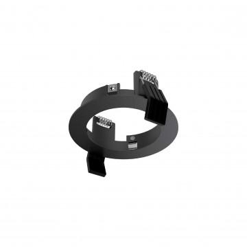Встраиваемый светильник Ideal Lux DYNAMIC FRAME ROUND BK 208701 (DYNAMIC FRAME ROUND BLACK), черный