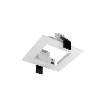 Встраиваемый светильник Ideal Lux DYNAMIC FRAME SQUARE WH 208725 (DYNAMIC FRAME SQUARE WHITE), белый