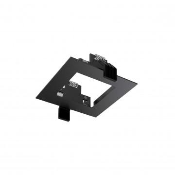Встраиваемый светильник Ideal Lux DYNAMIC FRAME SQUARE BK 208732 (DYNAMIC FRAME SQUARE BLACK), черный