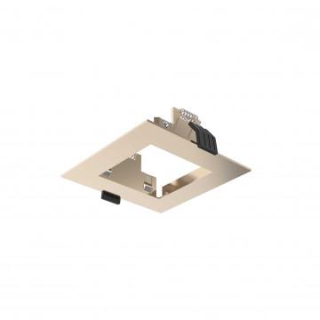 Встраиваемый светильник Ideal Lux DYNAMIC FRAME SQUARE GD 208749 (DYNAMIC FRAME SQUARE GOLD), золото