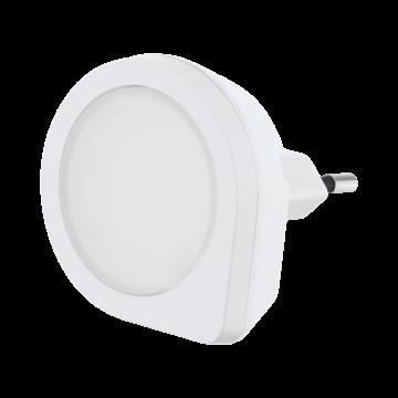 Штекерный светодиодный светильник-ночник Eglo Tineo 97932, белый, пластик