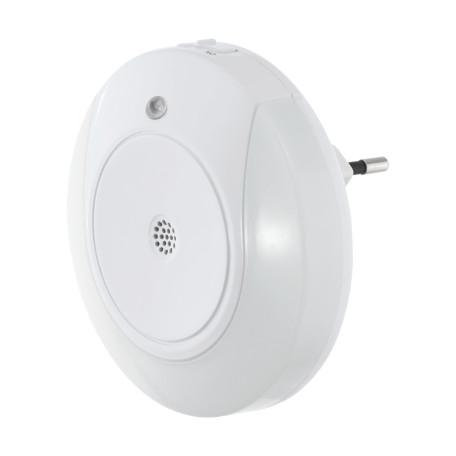 Штекерный светодиодный светильник-ночник Eglo Tineo 97934, LED 0,8W 3000K 8lm, белый, пластик
