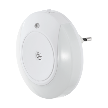 Штекерный светодиодный светильник-ночник Eglo Tineo 97934, 3000K (теплый), белый, пластик
