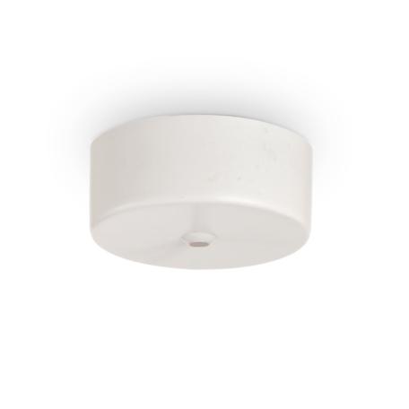 Основание встраиваемого подвесного светильника Ideal Lux Rosone Magnetico 1 Luce 244235, белый
