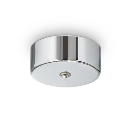 Основание встраиваемого подвесного светильника Ideal Lux Rosone Magnetico 1 Luce 244259, хром