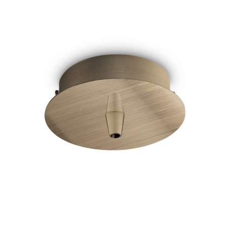 Основание встраиваемого подвесного светильника Ideal Lux Rosone Metallo 1 Luce 249261, бронза, металл