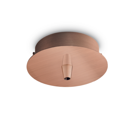 Основание встраиваемого подвесного светильника Ideal Lux Rosone Metallo 1 Luce 249278, медь, металл