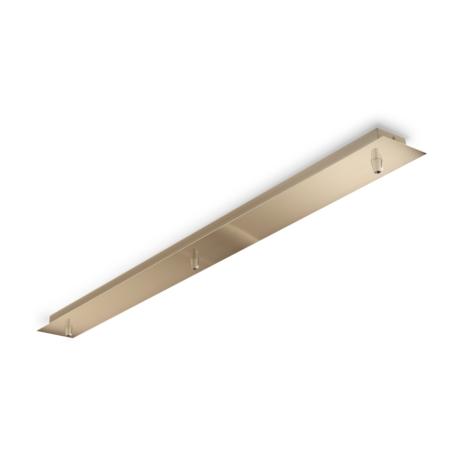 Основание встраиваемого подвесного светильника Ideal Lux Rosone Metallo 3 Luce 249285, матовое золото, металл