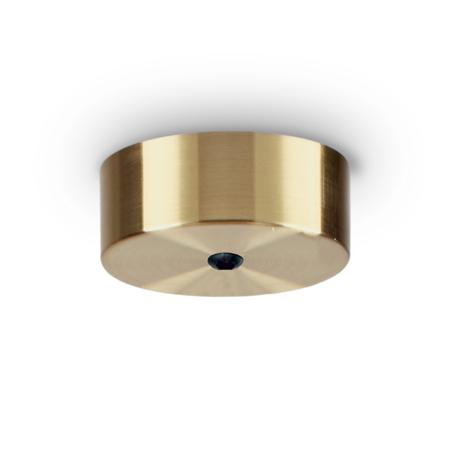 Основание встраиваемого подвесного светильника Ideal Lux Rosone Magnetico 1 Luce 249308, матовое золото