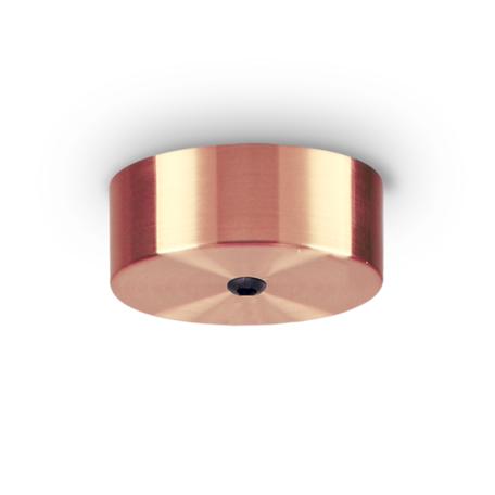 Основание встраиваемого подвесного светильника Ideal Lux Rosone Magnetico 1 Luce 249315, медь