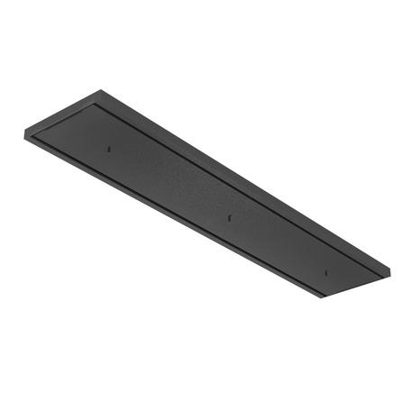 База для подвесного монтажа светильника Nowodvorski Cameleon Canopy C 1200 8554, черный, металл