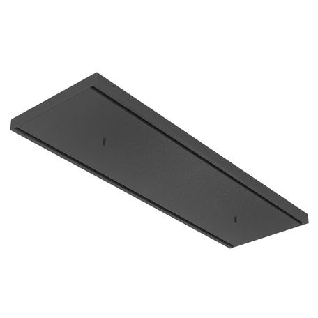 База для подвесного монтажа светильника Nowodvorski Cameleon Canopy C 780 8556, черный, металл