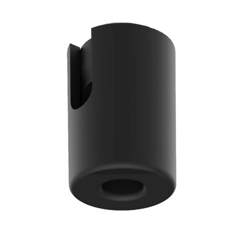 Крепление для провода Nowodvorski Cameleon Mounting A 8395, черный, пластик