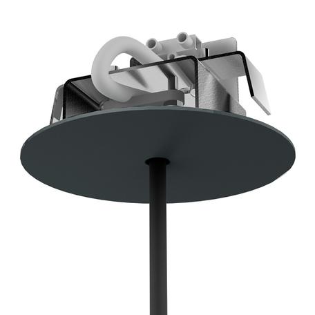 Основание встраиваемого подвесного светильника Nowodvorski Cameleon Canopy F 8547, черный, металл