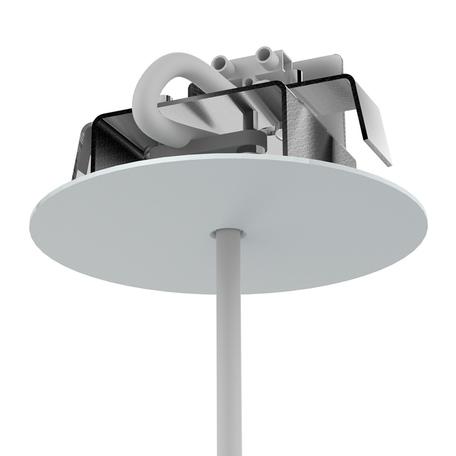 Основание встраиваемого подвесного светильника Nowodvorski Cameleon Canopy F 8548, белый, металл