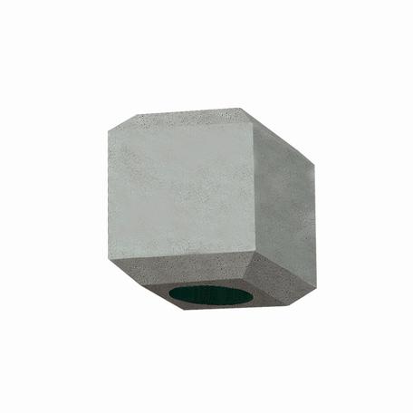 Плафон Nowodvorski Cameleon Geometric B 8425, серый, бетон