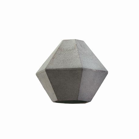 Плафон Nowodvorski Cameleon Geometric C 8465, серый, бетон