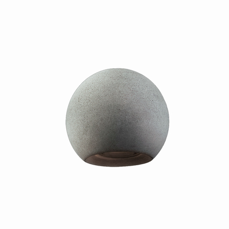 Плафон Nowodvorski Cameleon Geometric A 8466, серый, бетон