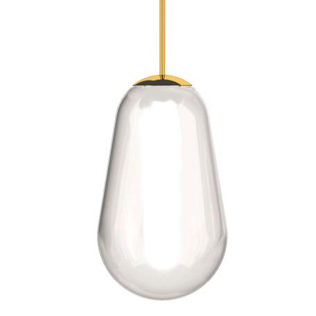 Плафон Nowodvorski Cameleon Pear M 8533, золото, прозрачный, металл, стекло