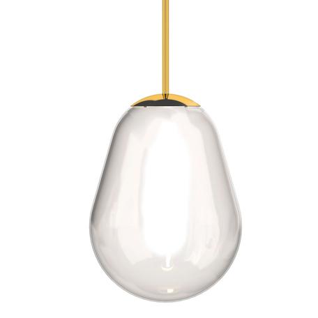 Плафон Nowodvorski Cameleon Pear S 8534, золото, прозрачный, металл, стекло