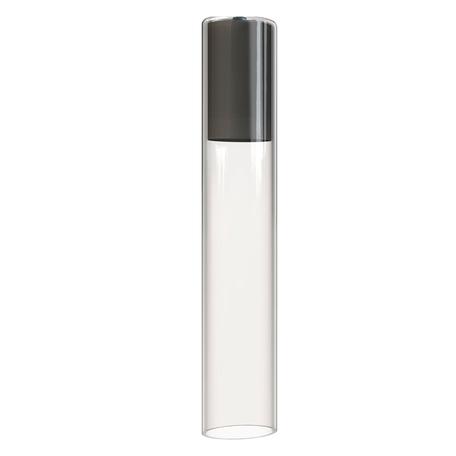 Плафон Nowodvorski Cameleon Cylinder L 8537, черный, прозрачный, стекло