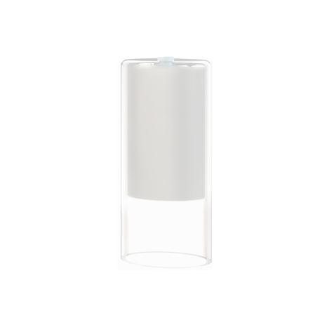 Плафон Nowodvorski Cameleon Cylinder S 8545, белый, прозрачный, стекло