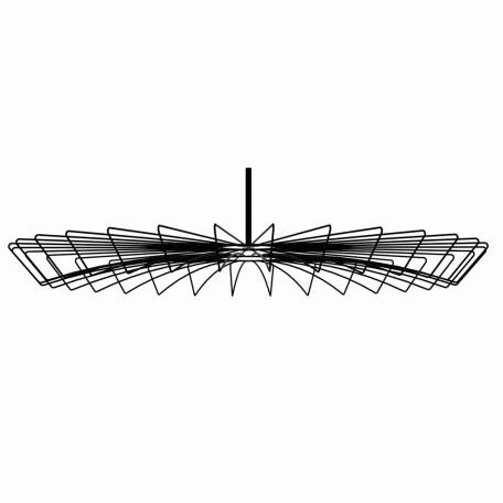 Плафон Nowodvorski Cameleon Umbrella 8574, черный, металл