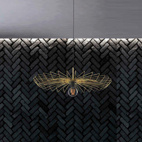 Плафон Nowodvorski Cameleon Umbrella 8575, золото, металл