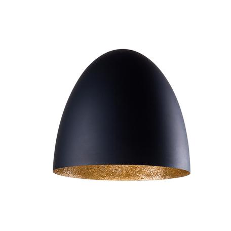 Плафон Nowodvorski Cameleon Egg M 8607, черный, пластик