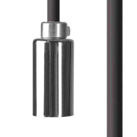 Светильник для крепления на основание Nowodvorski Cameleon Cable G9 8598, 1xG9x10W, хром, пластик