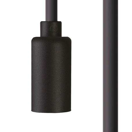 Светильник для крепления на основание Nowodvorski Cameleon Cable G9 8632, 1xG9x10W, черный, пластик
