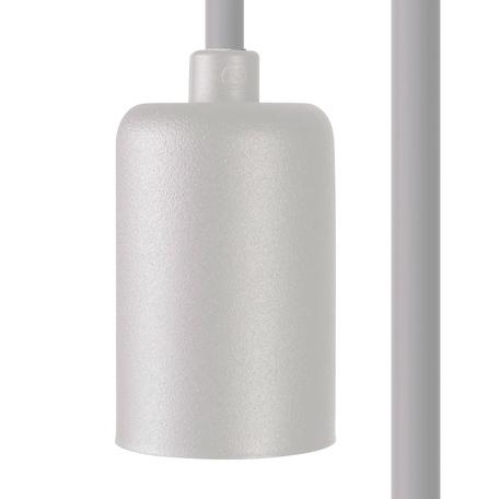 Светильник для крепления на основание Nowodvorski Cameleon Cable E27 8647, 1xE27x40W, белый, пластик