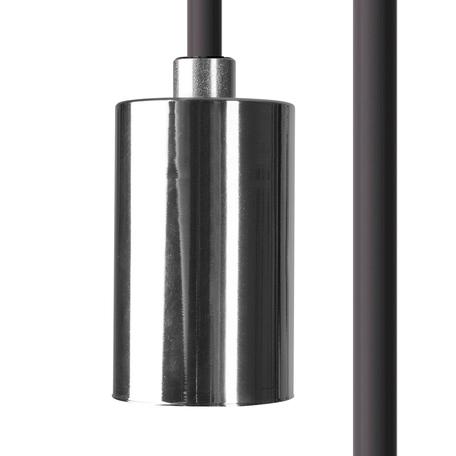 Светильник для крепления на основание Nowodvorski Cameleon Cable E27 8658, 1xE27x40W, хром, пластик