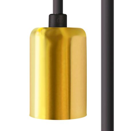 Светильник для крепления на основание Nowodvorski Cameleon Cable E27 8660, 1xE27x40W, золото, пластик