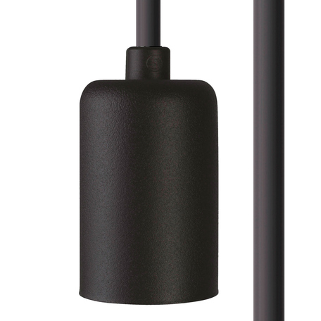 Светильник для крепления на основание Nowodvorski Cameleon Cable E27 8667, 1xE27x40W, черный, пластик
