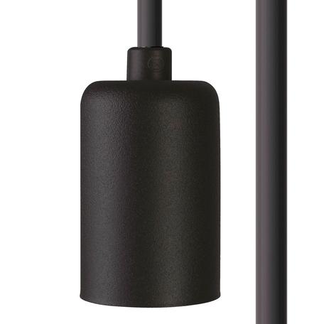 Светильник для крепления на основание Nowodvorski Cameleon Cable E27 8668, 1xE27x40W, черный, пластик