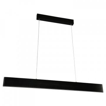 Подвесной светодиодный светильник Lussole Loft Decatur LSP-9517, IP21, LED 26W 4100K, черный, металл