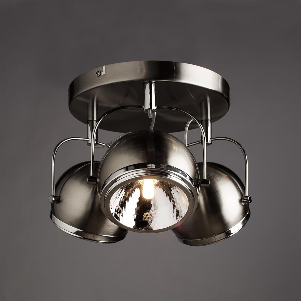 Arte Lamp Orbiter A4508PL-3SS, 3xG9x40W, серебро - фото 2