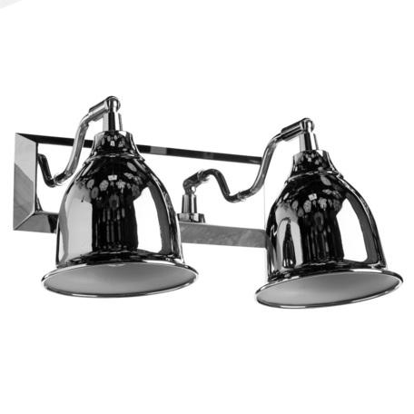 Бра с регулировкой направления света Arte Lamp Campana A9557AP-2CC, 2xE14x40W, хром, металл