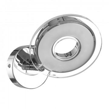 Настенный светодиодный светильник с регулировкой направления света Arte Lamp Fascio A8971AP-1CC, LED 4,5W 3000K 320lm CRI≥80, хром, металл, пластик